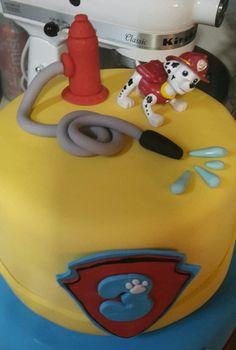 Tarta de Paw Patrol. Perfecto para una celebración temática.#Pawpatrol #pastel