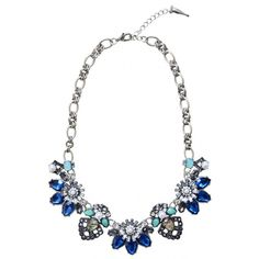 Ocean Treasures Statement Necklace ($28) ❤ liked on Polyvore featuring jewelry, necklaces, accessories, statement necklace, white pearl necklace, pearl jewellery, bib statement necklace and pearl necklace