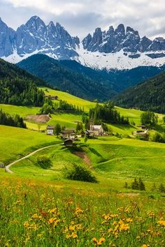 The Dolomites - A year-round destination, this stunning mountain range is as spectacular for summer hiking as it is for skiing in the…