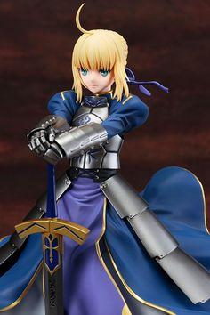 "Crunchyroll - Kotobukiya Previews ""Fate/stay night: Unlimited Blade Works"" Kishiou Saber Figure"