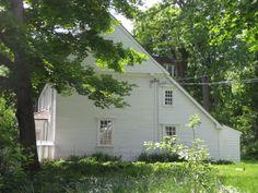 New England saltbox houses