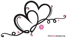 simple love heart tattoo designs - DriverLayer Search Engine