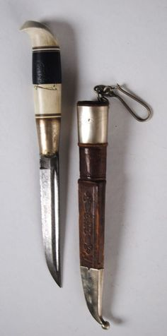 "OLD FINNISH PUUKKO OR PUKKO  MARKED ""IMATRA"" DAGGER-SWORD-KNIFE"
