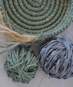 Coil basket weaving methods // Paperphine Paper Raffia Bowl – String Harvest