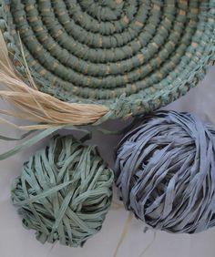 Coil basket weaving methods // Paperphine Paper Raffia Bowl – String Harvest…