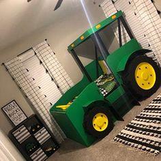 4 assemblé tracteur Carte Topper Paper Die Cuts voiture Farm véhicule Builder Boy male