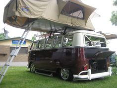 """❤︎ VW №2 camper - BBC Boracay says: """" A roof tent is a great option. You sleep well, safe and comfortable..."""""""