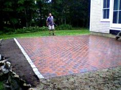 Image Detail For  Brick Paver Patio