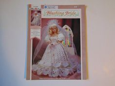 Blushing Bride Fibre Craft Doll Clothes by TrinasCraftPatterns