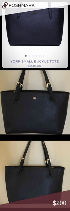 Tory Burch Small York Tote Excellent, like new condition! An essential staple for your everyday wardrobe. Tory Burch Bags Totes