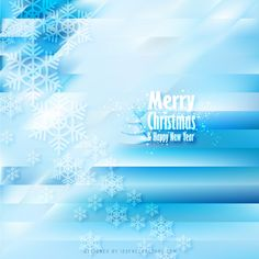 Merry Christmas Snowflakes Light Blue Background Free Christmas Backgrounds, Winter Backgrounds, Free Vector Backgrounds, Christmas Background Vector, Blue Backgrounds, Vector Free, Blue Background Wallpapers, Light Blue Background, Snowflake Christmas Lights