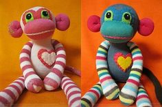 Super Sock Monkeys By Zparkleys