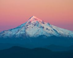 Mt Hood is one of the best ski resorts in the world and it's only an hour outside of Portland.