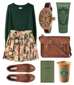 """Untitled"" by hanaglatison ❤ liked on Polyvore featuring Band of Outsiders, Steve Madden, The Cambridge Satchel Company, Glam Rock and Sisley Paris"