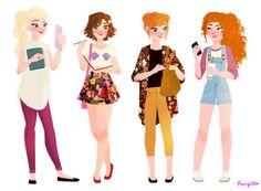 4 seasons of Disney pic.twitter.com/871iyGZzZq