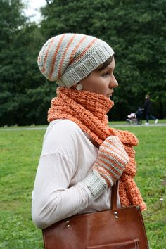 Hello New York - Winter accessories - free pattern - Pickles