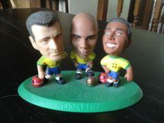 Brazil Coca-Cola figures Ronaldo Dunga and Romario World Cup Promo    eBay