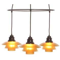 Poul HENNINGSEN Double Ringkrone Lamp | From a unique collection of antique and modern chandeliers and pendants  at http://www.1stdibs.com/furniture/lighting/chandeliers-pendant-lights/