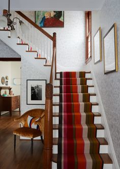 30 Best Beautifully Wallpapered Foyers images   Design ...