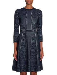 Victorian-style lace full-skirt dress   Alexander McQueen   MATCHESFASHION.COM UK