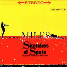 Miles Davis album cover art for Sketches of Spain