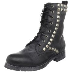 Amazon.com: FRYE Women's Rogan Studded Lace Tall Boot: Shoes