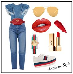 Gucci Jeans Shoes YSL Chic Style Fashion Look