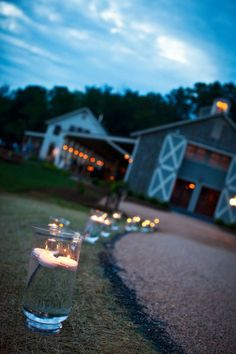 floating candles-   Winery Weddings Photo Gallery | Pippin Hill Farm & Vineyards