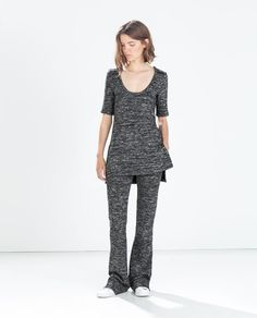 KNIT FLARED TROUSERS Ref. 7902/756 59.95 EUR