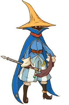 Final Fantasy Tactics A2 - Hume Black Mage