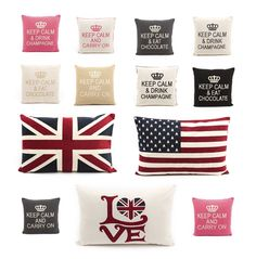 Upscale cushions Keep Calm Carry On, Keep Calm And Drink, Champagne Drinks, Brand Collection, Peace And Love, Trendy Fashion, Branding Design, Lettering, Luxury