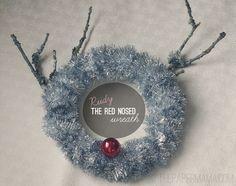 The Rudolph Wreath
