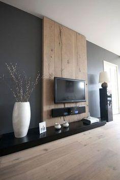 wandmeubel tv om kabels te verbergen - Google zoeken | Tv wall ...