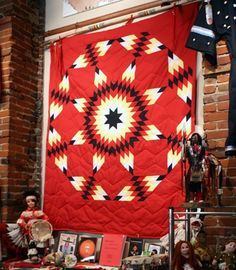 Lakota Star Quilt ~ The star is one of the most common design motifs used by Plains tribal quilters. Description from pinterest.com. I searched for this on bing.com/images