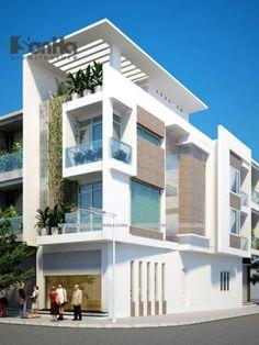 Thiết Kế Nhà ống X Thiet Ke Nha Ong Ian Modoo Apartment Building Designs Ideas