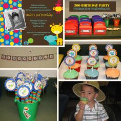 Zoo birthday party we did