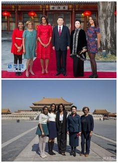 China first family and America first family <3