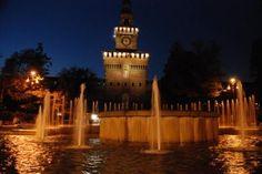 Castello Sforzesco Milano nel MI