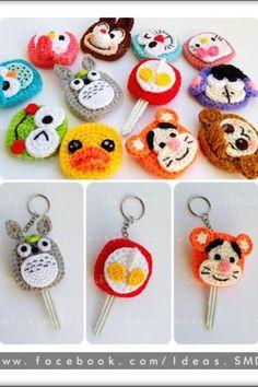 「how to make amigurumi mushroom key cover」の画像検索結果 Crochet Cozy, Love Crochet, Crochet Gifts, Diy Crochet, Amigurumi Patterns, Crochet Patterns, Crochet Key Cover, Crochet Keychain, Crochet Accessories