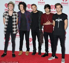 Boy power: Since they got together as a group on X Factor in 2010, One Direction have soldover 46 million records world wide