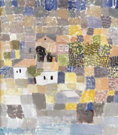 alongtimealone:    Paul Klee - Sicilian Landscape, 1924 at Barnes Foundation Philadelphia PA (by mbell1975)