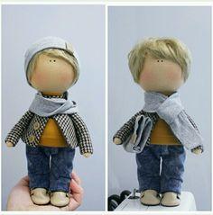 Купить Кукла мальчик 24см - кукла ручной работы, кукла, кукла в подарок, кукла интерьерная