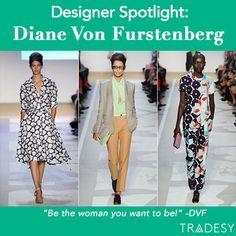 DVF #fashion #tradesy #style #dvf #runway