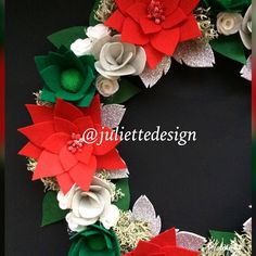 READY TO SHIP! Christmas Wreath, Merry Christmas Wreath, Holiday Wreath by juliettesdesigntr on Etsy https://www.etsy.com/listing/577252839/ready-to-ship-christmas-wreath-merry