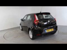 MG 3 1.5 3 FORM SPORT - Air Conditioning - Alloy Wheels - Bluetooth - Cruise Control - DAB Radio - Spare Key S.S | In black with 3 MLS miles on the clock.