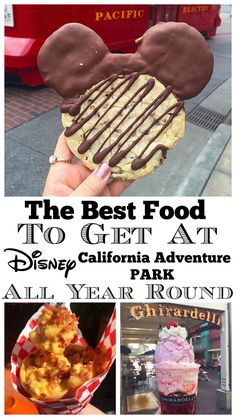 disneyland food Sharing the Best Food at Disney California Adventure Park Available All Year Round! So many great choices around the Park, get your stretchy pants ready. Starting with Disneyland Paris, Best Disneyland Food, Disneyland Dining, Disneyland Secrets, Disney California Adventure Park, Disneyland Halloween, Disneyland Vacation, Disney Vacations, Disney Travel