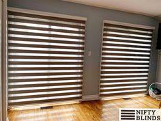 Zebra blinds in Toronto #windowtreatments #customblinds #zebrablinds #blindsandcurtainsfabrics Window Treatments, Sheer Shades, Zebra Blinds, Custom Blinds, Blinds, Sand Curtains, Window Styles, Custom Windows, Blinds For Windows
