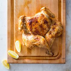 One-Hour Broiled Chicken and Pan Sauce | America's Test Kitchen
