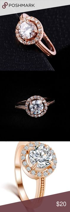 Trendy Ring / SALE Wedding ring, trending !! I have this beautiful ring in 7 and 8! Looks really classy and chic !! Jewelry Rings