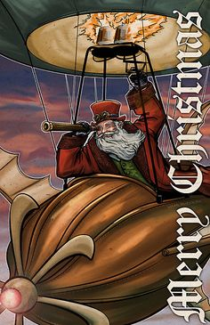 Steampunk Santa Claus | Patrick Scullin › Portfolio › Steampunk Santa Claus
